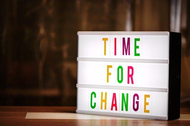 変わるための時間